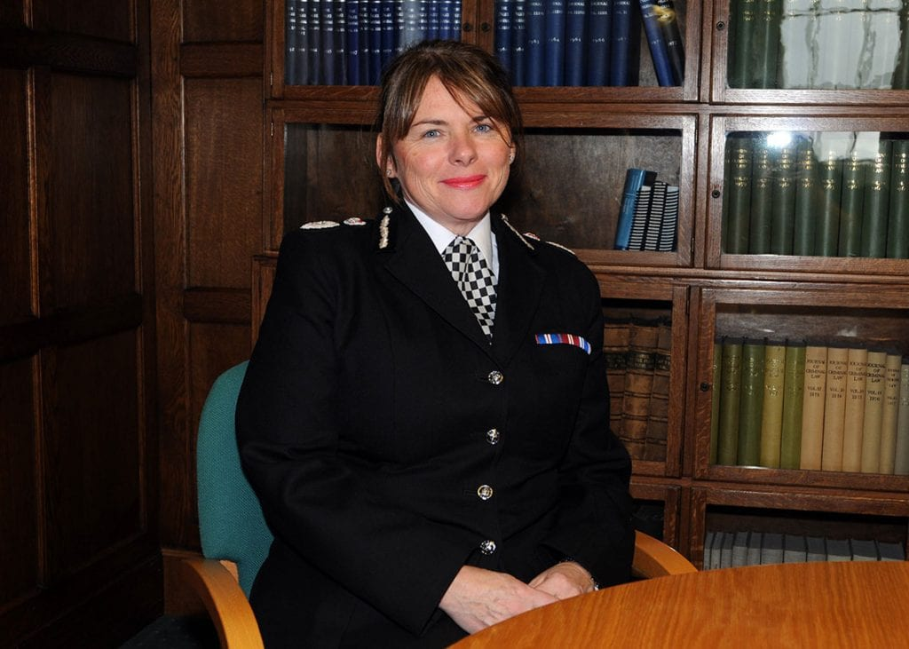 Cumbria Chief Constable Michelle Skeer