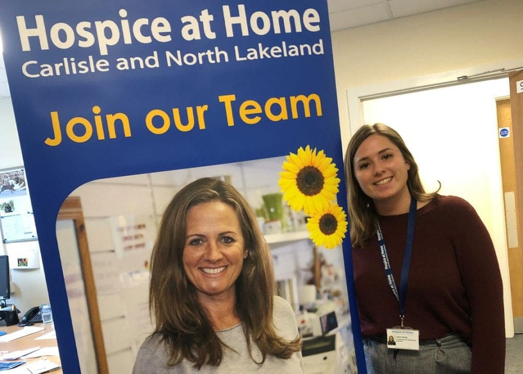 Hospice at Home are looking for volunteers to help with the re-opening of its shop in Keswick