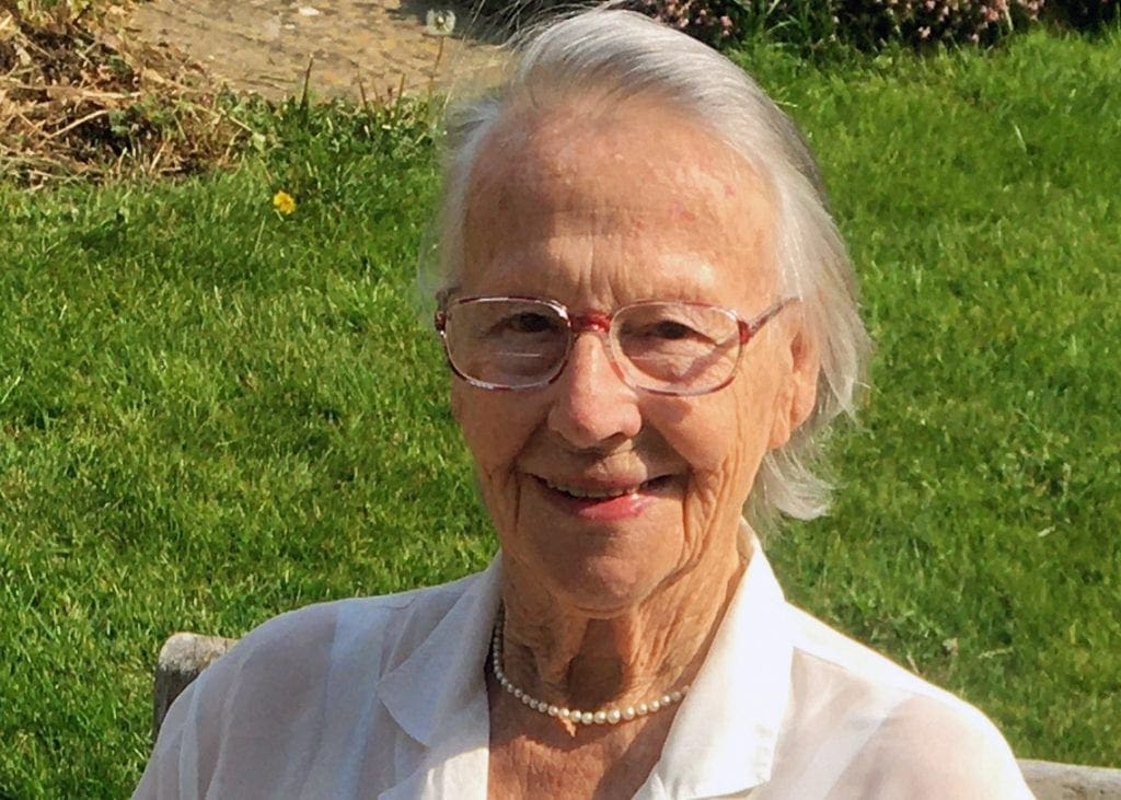 Judith Rich (nee Willmore), aged 89 was a WW2 evacuee in Keswick