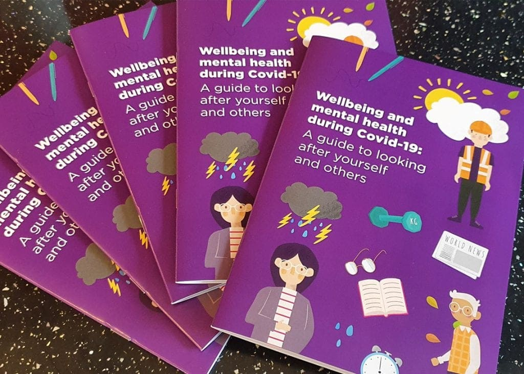The Every Life Matters wellbeing booklets.