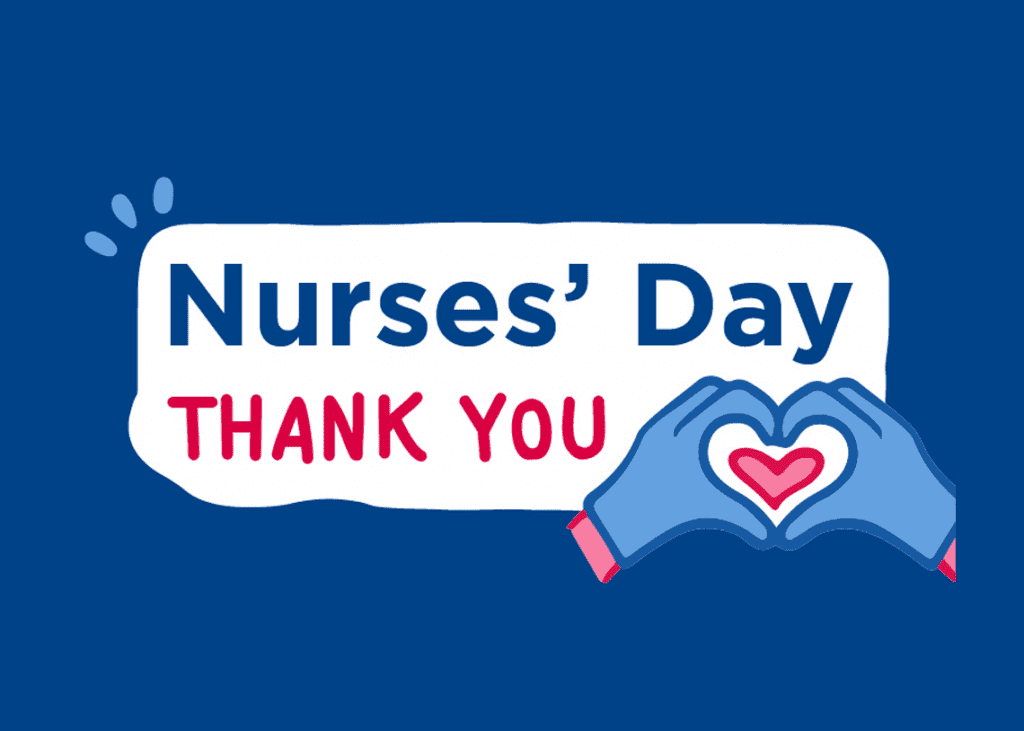 Nurses' Day Thank You