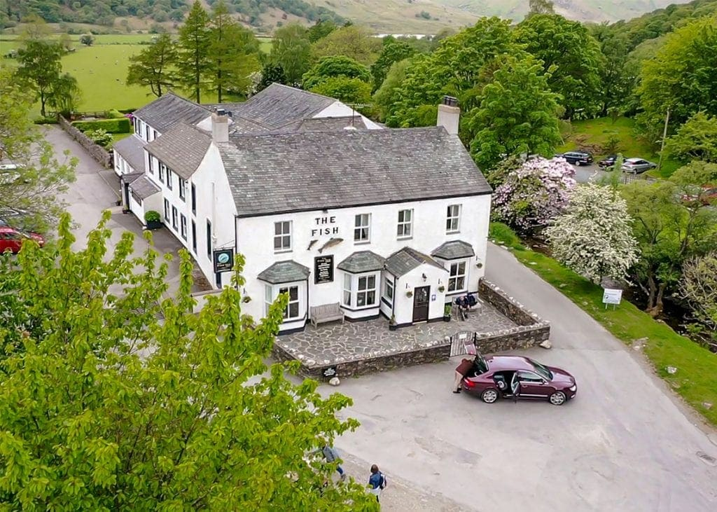 The Fish Inn in Buttermere